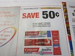 15 Coupons $.50/1 Colgate 3.0oz Toothpaste 9/1/2018