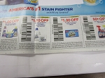 15 Coupons $1/1 Oxiclean In Wash Stain Fighter + $1/1 White Revive + $1/1 Washing Machine Cleaner + $.50/1 Pre Treater 9/26/2018