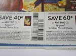 15 Coupons $.40/2 Sargento Natural Cheese Slices + 15 $.60/2 Sargento Shredded Natural Cheese 10/21/2018