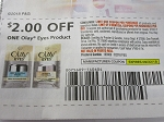 15 Coupons $2/1 Olay Eyes Product 9/22/2018