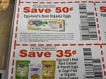 15 Coupons $.50/1 Eggland's Best Organic Eggs + $.35/1 Hard Cooked & Peeled Eggs 12/9/2018