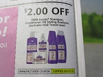 15 Coupons $2/2 Aussie Shampoo Conditioner or Styling 9/22/2018