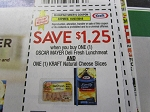 15 Coupons $1.25/1 Oscar Mayer Deli Fresh Lunchmeat AND Kraft Natural Cheese Slices 10/7/2018