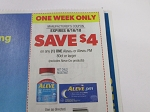 15 Coupons $4/1 Aleve or Pm 80ct+ 9/16/2018
