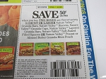 15 Coupons $.50/2 Nature Valley Granola Bars 11/3/2018