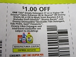15 Coupons $1/1 Tide Simply Detergent 30oz + 10/13/2018