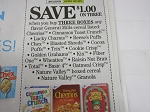 15 Coupons $1/3 General Mills Cereals 10/27/2018