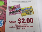 15 Coupons $2/3 Nestle Fun Size Candy 11/1/2018