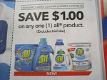 15 Coupons $1/1 All Product 10/27/2018