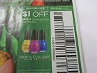 15 Coupons $1/2 SinfulColors Nail polish 11/11/2018