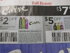 15 Coupons $2/1 Curve Body Spray or Mist + $5/1 Curve Cologne 11/11/2018