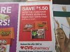 15 Coupons $1.50/3 Hershey's Snack Size Candy Bags AT CVS 10/20/2018