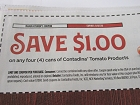 15 Coupons $1/4 Contadina Tomato Products 11/7/2018