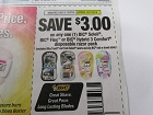 15 Coupons $3/1 Bic Soleil, Flex, Hybird 3 Comfort Disposable Razor Pack 10/27/2018