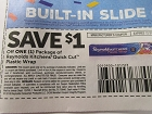 15 Coupons $1/1 Reynolds Kitchens Quick Cut Plastic Wrap 12/31/2018