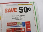 15 Coupons $.50/1 Colgate Toothpaste 3.0oz 10/27/2018