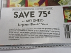 15 Coupons $.75/1 Sargento Blends Slices 12/16/2018