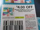 15 Coupons $4/2 bags or 1 Box Pampers Diapers or Easy Ups Training Underwear 11/10/2018