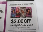 15 Coupons $2/1 Got2B Color Product 11/11/2018
