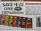 15 Coupons $1/1 Nonni's Thinaddictives 12/21/2018