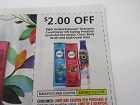 15 Coupons $2/2 Herbal Essences Shampoo Conditioner or Styling 11/17/2018