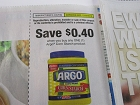 15 Coupons $.40/1 Argo Corn Starch 12/30/2018