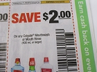 15 Coupons $2/1 Colgate Mouthwash or Mouth Rinse 11/17/2018