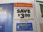 15 Coupons $3/1 Aleve PM 20ct+ 12/2/2018