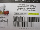 15 Coupons Buy 1 Olay Whips Facial Moisturizer Get 1 Facial Cleanser FREE 11/24/2018