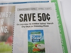 15 Coupons $.50/1 Hidden Valley Ranch Dry Dips or Dressing Mix 1/13/2019