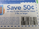 15 Coupons $.50/1 Wonderful Halos 2lbs+ 12/18/2018