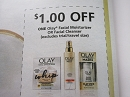 15 Coupons $1/1 Olay Facial Moisturizer or Facial Cleanser 12/22/2018