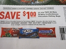 15 Coupons $1/2 Mars Wrigley Confectionery Chocolate Holiday Bags DND 12/25/2018