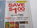15 Coupons $1/2 Keebler or Carr's Crackers 1/20/2019
