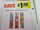 15 Coupons $1.50/1 Colgate Adult or Kids Battery Powered Toothbrush 12/15/2018