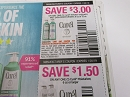 15 Coupons $3/1 Curel Hydra Therapy Wet Skin Moisturizer 8 or 12oz + $1.50/1 Curel Moisturizer 6oz 1/20/2019