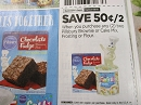 15 Coupons $.50/2 Pillsbury Brownie or Cake Mix Frosting or Flour 1/9/2019