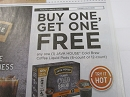 15 Coupons Buy 1 Get 1 Free Java House Cold Brew Coffee Liquid Pods 6 or 12 Ct 3/31/2019