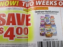 15 Coupons $4/1 Centrum Multigummies 60ct 1/20/2019