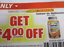 15 Coupons $4/1 Centrum 50+ MultiGummies 60ct 1/20/2019