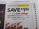 15 Coupons $1.50/2 Special K Cereals or Bars and Bites 2/17/2019