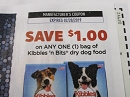15 Coupons $1/1 Kibbles n Bits Dry Dog Food 2/28/2019