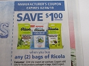 15 Coupons $1/2 bags Ricola Cough Drops 2/6/2019