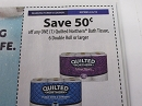 15 Coupons $.50/1 Quilted Northern Bath Tissue 6 Double Roll 2/6/2019