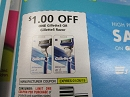 15 Coupons 1/1 Gillette 3 or Gillette 5 Razor 1/26/2019