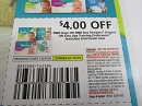 15 Coupons $4/2 Bags or 1 Box Pampers Diapers or Easy Ups Training Underwear 1/12/2019