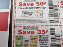 15 Coupons $.50/1 Egg Land's Best Organic Eggs + $.35/1 Egg Land's Best Hard Cooked & Peeled Eggs 4/6/2019