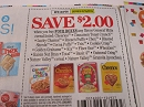 15 Coupons $2/4 General Mills Cereals Cheerios Cinnamon Toast Crunch Trix Lucky Charms 2/16/2019