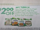 15 Coupons $2/3 Green Giant Veggie Tota Riced Veggies Mashed Cauliflower 3/31/2019