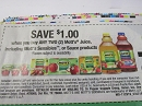 15 Coupons $1/2 Mott's Juice or Sauce 3/2/2019
